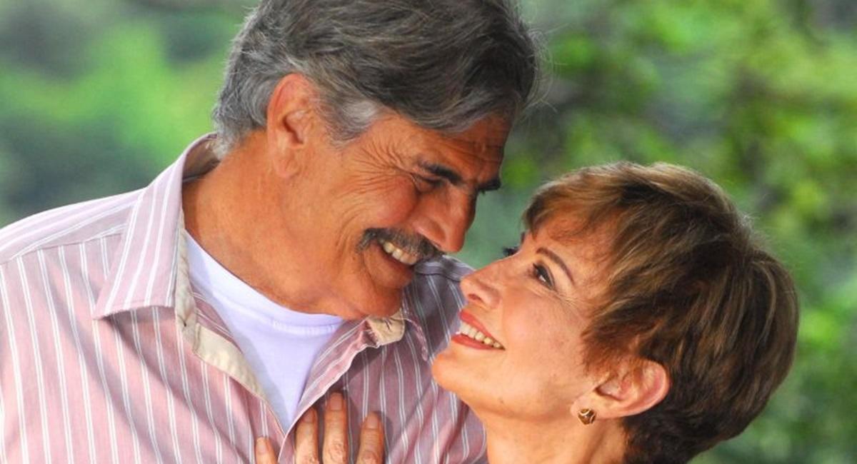 Crédito: João Miguel Junior/TV Globo. Tarcísio Meira e Glória Menezes estão juntos há mais de 50 anos