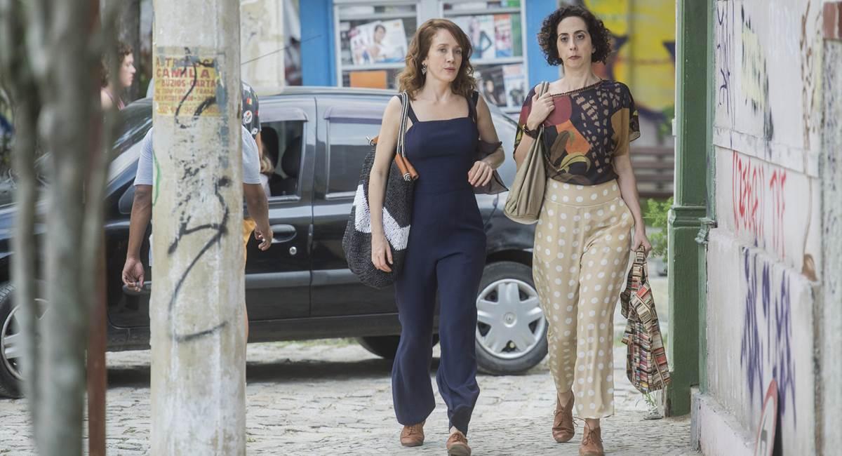 Gabriela (Camila Morgado) e Brigitte (Marianna Armellini) em Malhação. Crédito: Mauricio Fidalgo/Divulgação