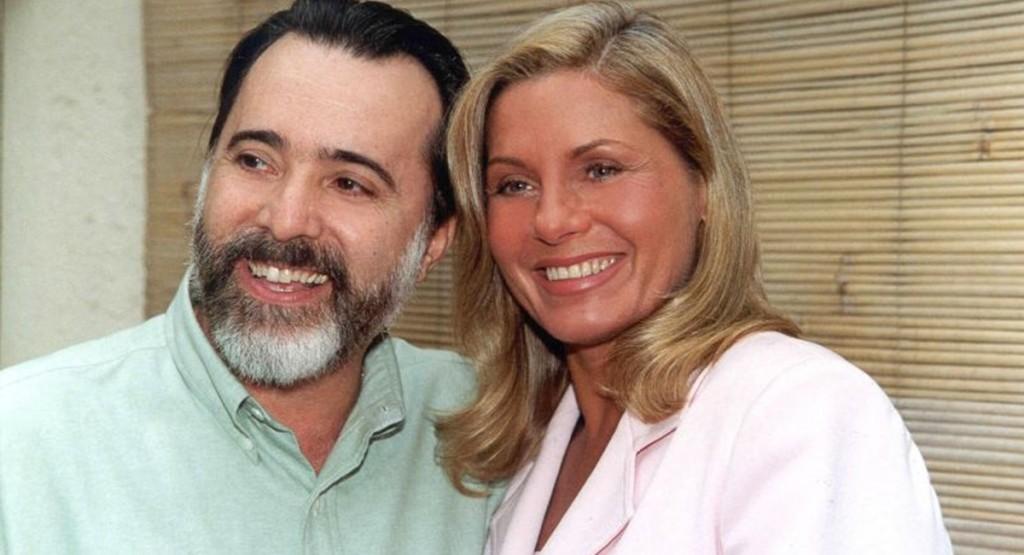 Brasil.  - . Pauta: Novela Lacos de Familia. Credito: Arquivo/TV Globo. Atores Tony Ramos e Vera Fisher na novela Lacos de Familia.15 abr. 2007. TV, p. 7.