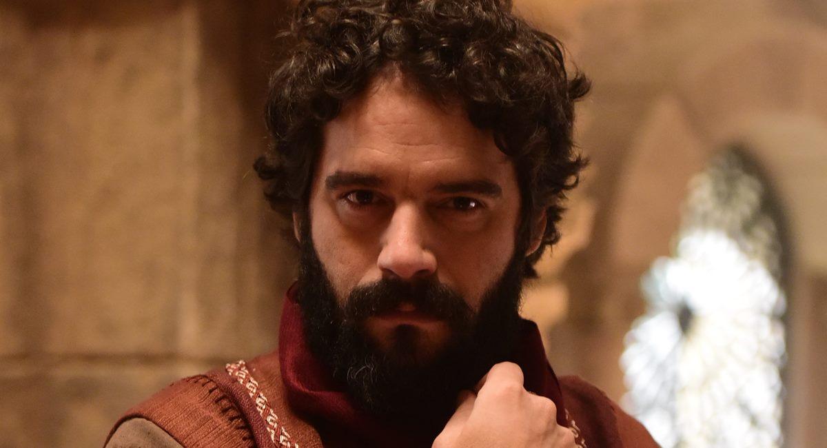 Na quinta novela bíblica da carreira, Guilherme Winter vive o vilão Judas Iscariotes
