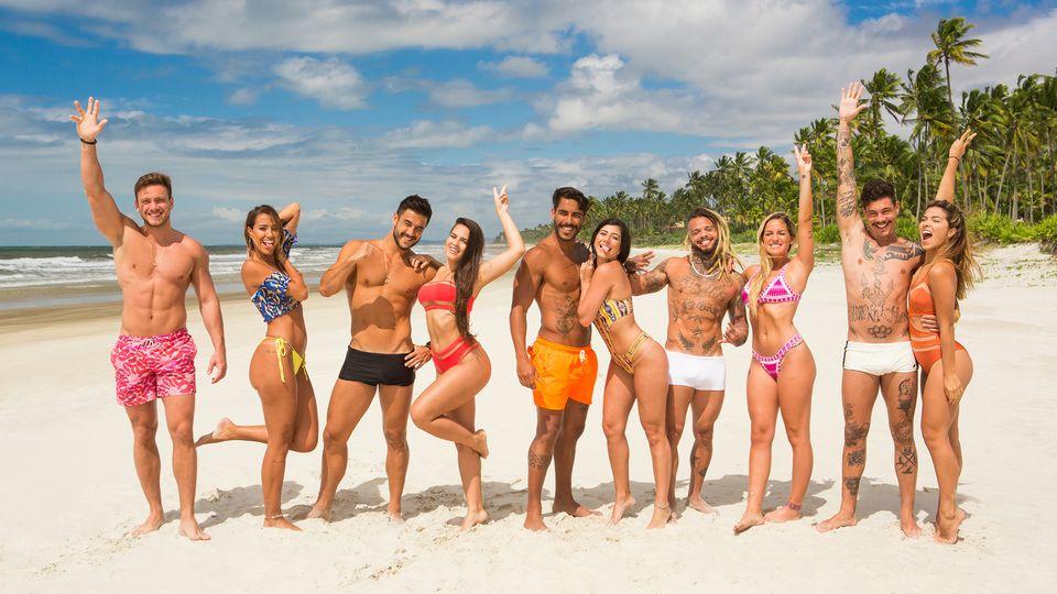 Crédito: MTV/Divulgação. Elenco da terceira temporada de De férias com o ex Brasil