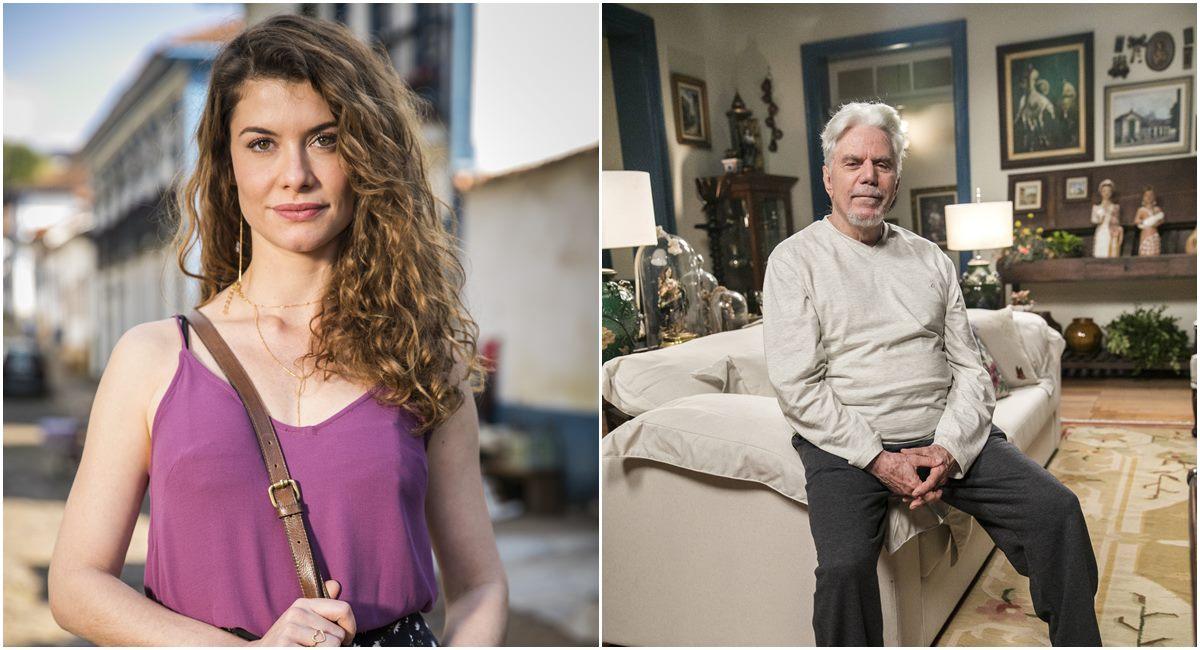 Alinne Moraes e Reginaldo Faria foram acertos da escalação de Espelho da vida