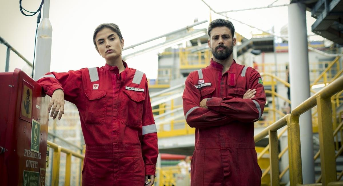 Maria Casadevall e Cauã Reymond são os protagonistas de Ilha de ferro