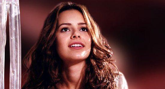 Sandy na novela Estrela guia