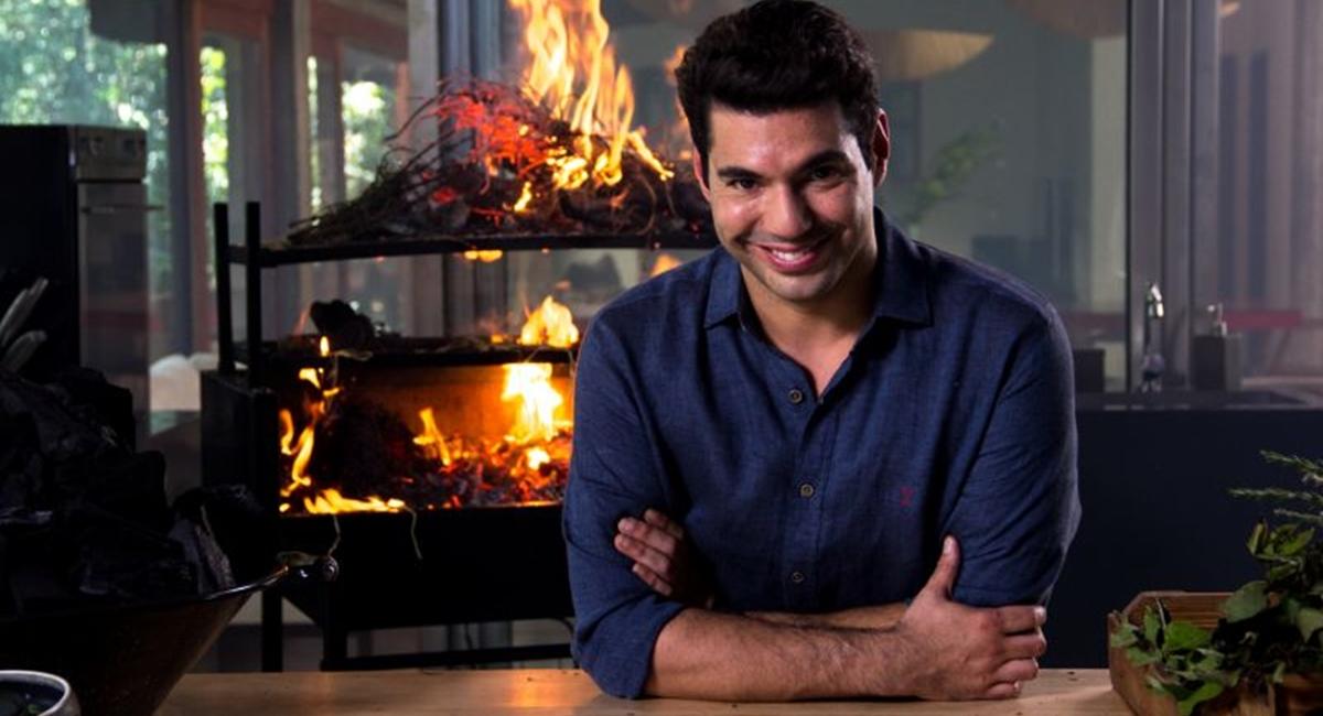 Felipe Bronze no programa Perto do fogo