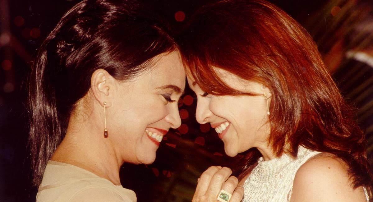 Regina e Gabriela Duarte em Por amor