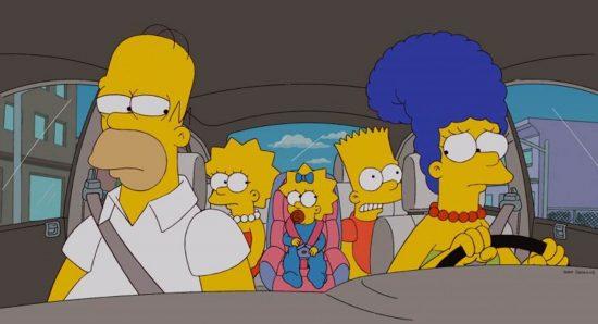 Cena de Os Simpsons