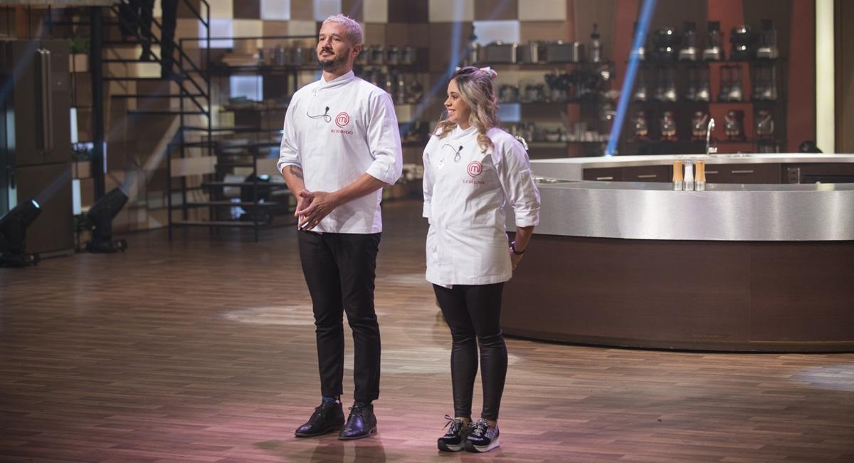 Rodrigo e Lorena terão que fazer um menu autoral na final do MasterChef