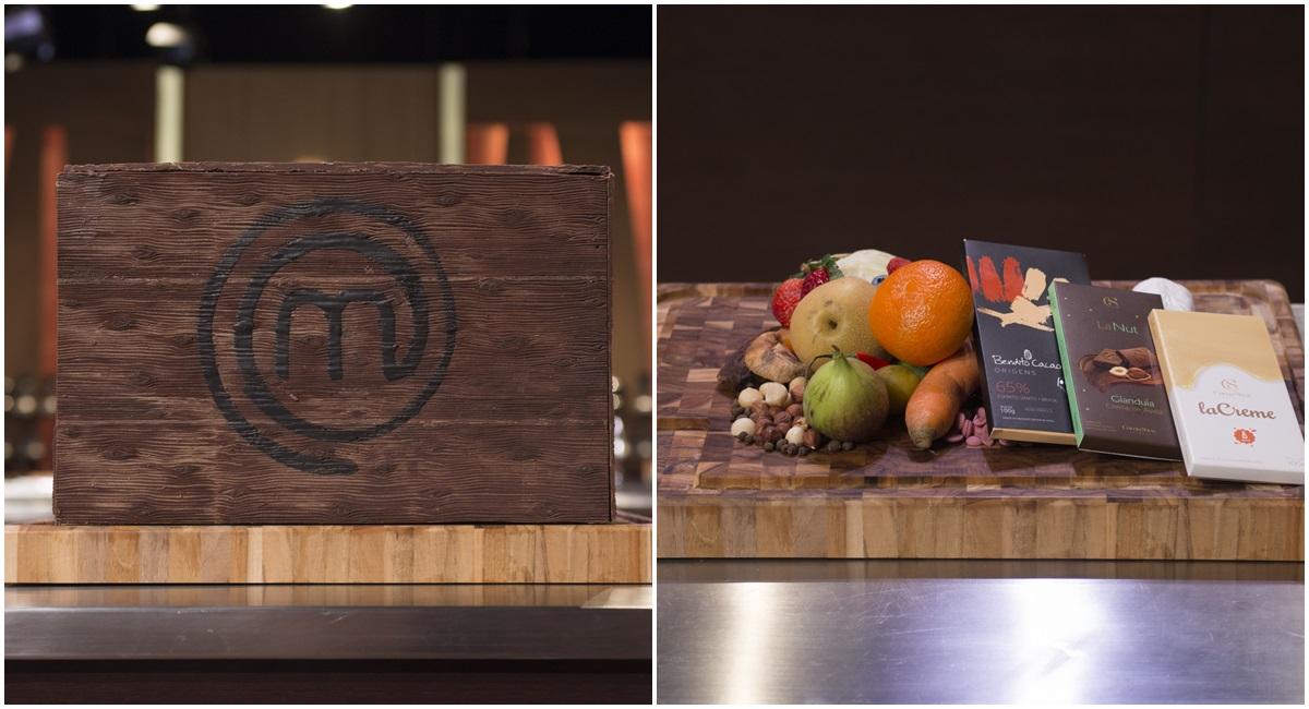Caixa de chocolate em prova do MasterChef