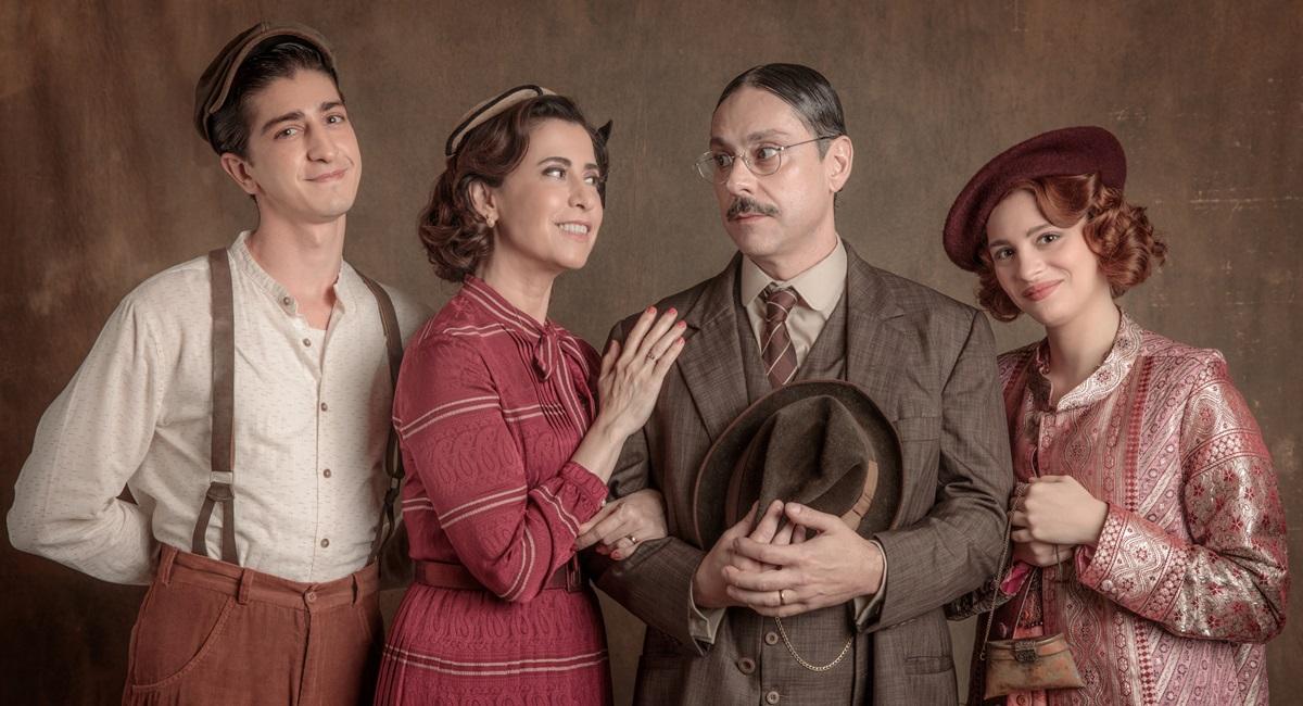 A família Bulhosa: vive grandes aventuras na Era Vargas, época em que se passa a segunda temporada de Filhos da pátria