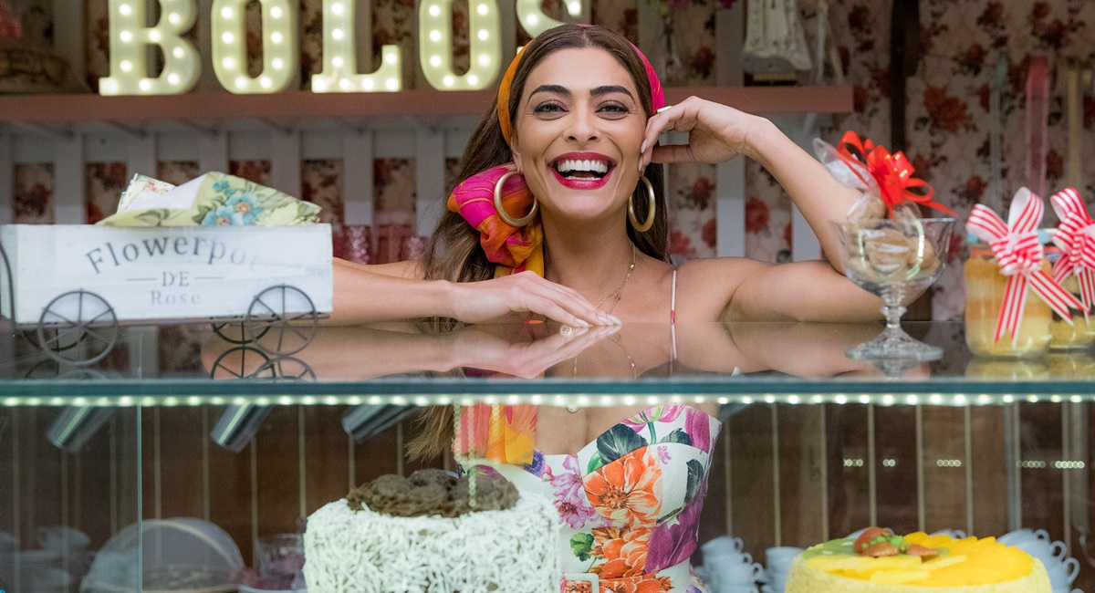 Juliana Paes como a personagem Maria da Paz de A dona do pedaço