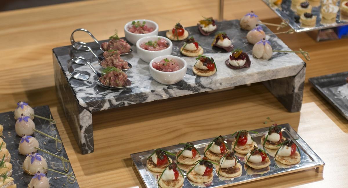Mesa de canapés inspirou os cozinheiros do MasterChef - A revanche