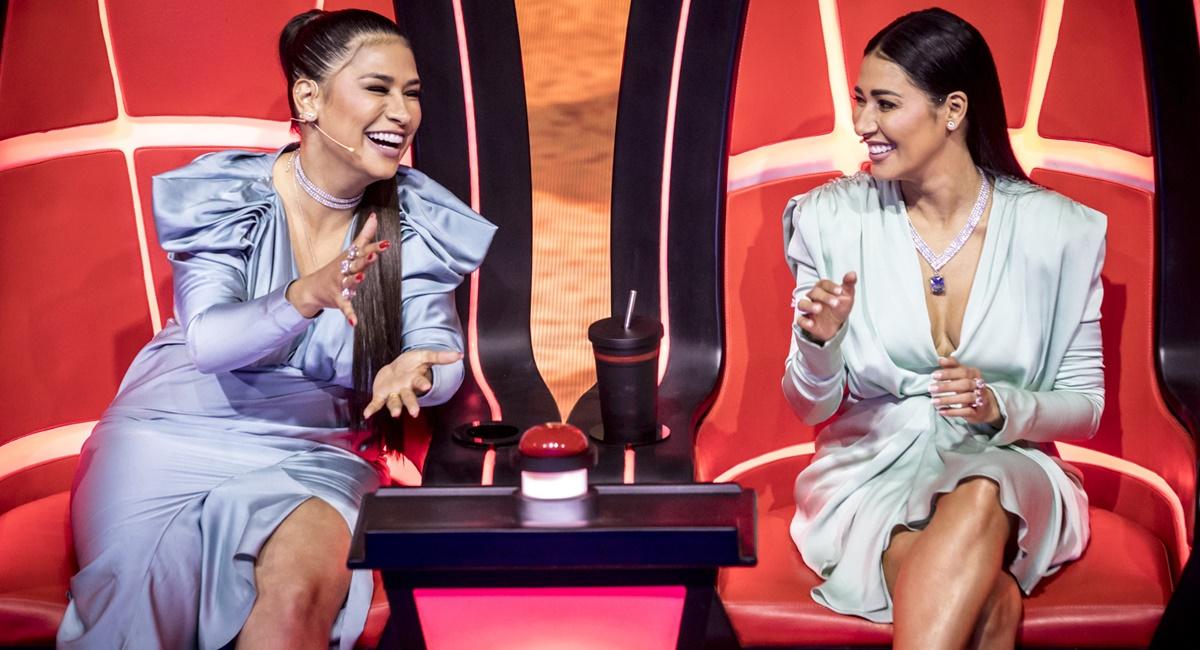 Simone e Simaria, juradas do The voice kids