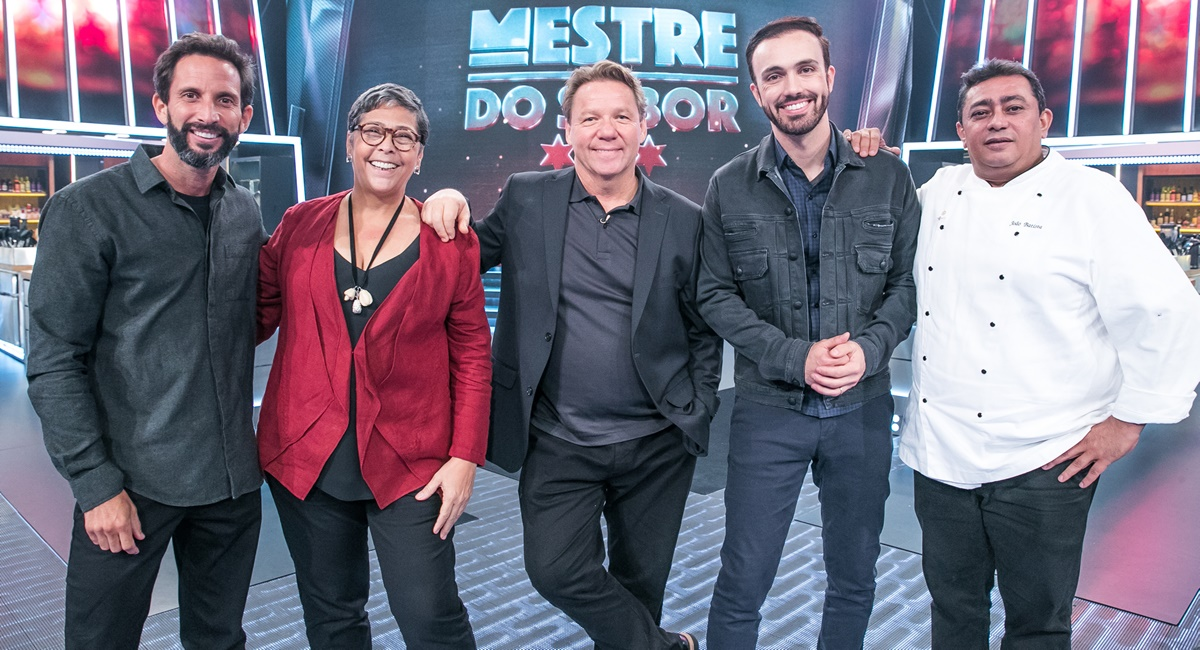 Jurados e apresentadores da segunda temporada do Mestre do sabor