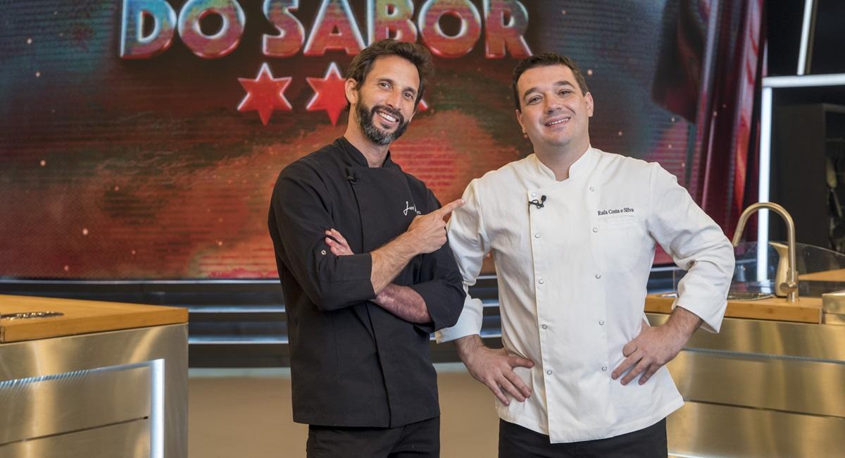 José Avillez e Rafael Costa e Silva no Mestre do sabor