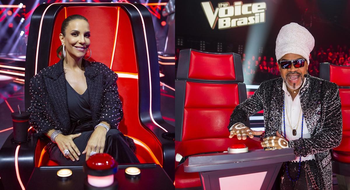 Ivete Sangalo dá lugar a Carlinhos Brown no The voice
