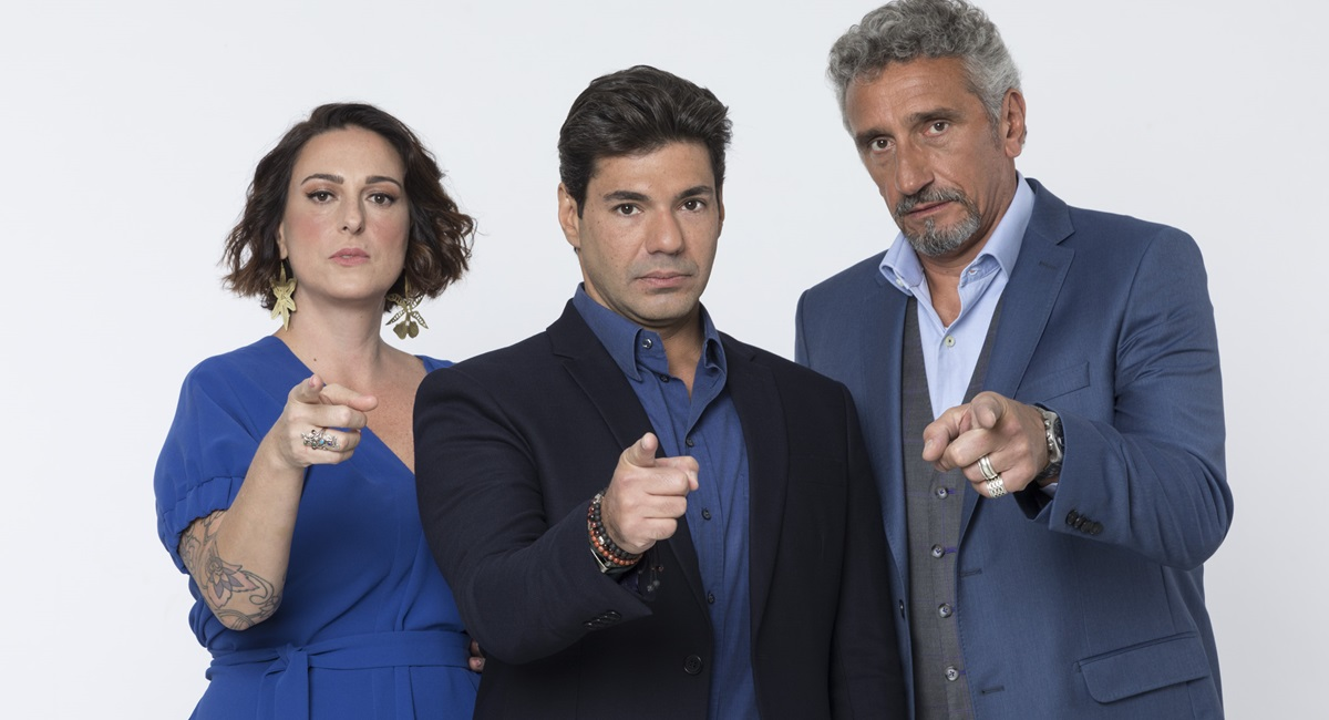 trio de jurados do Top chef