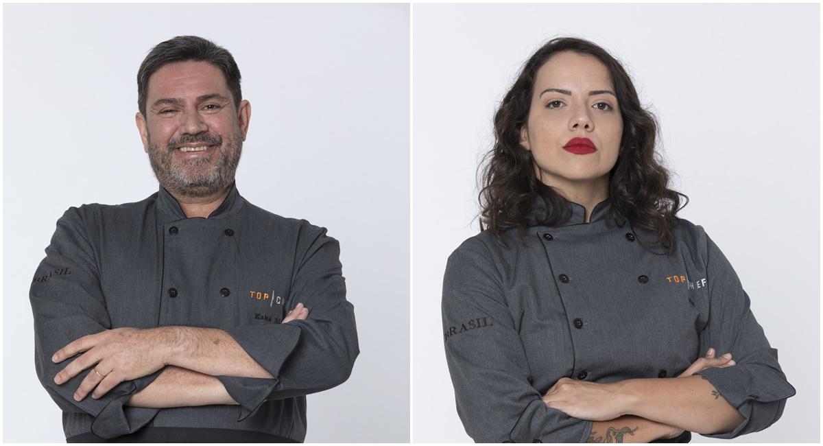 Kaká Silva e Marê Araújo representam Brasília no Top chef