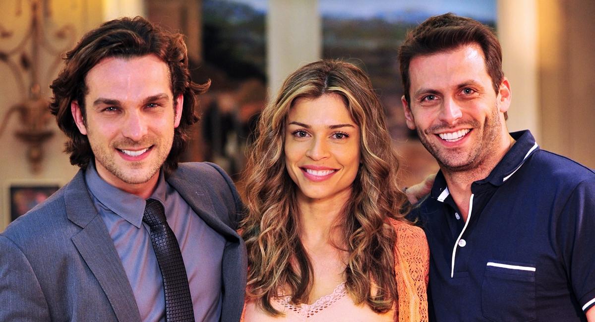 Alberto, Ester e Cassiano formam o principal triângulo amoroso de Flor do Caribe