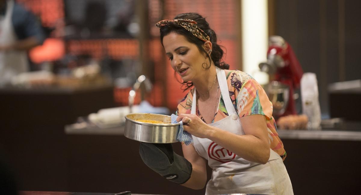 Ana Paula em prova do MasterChef 2020