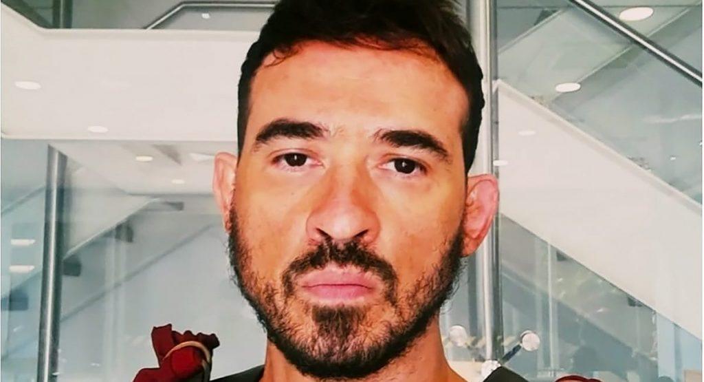Ator Marcelo Menezes como Payam na novela Gênesis