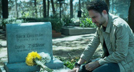 Cena da série Quem matou Sara?