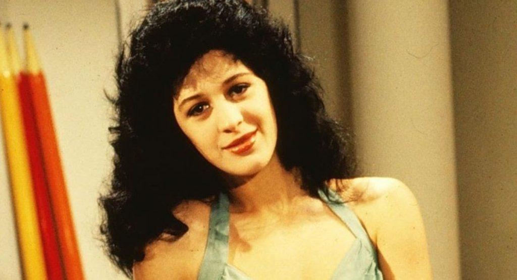 Claudia Raia como Tancinha na novela Sassaricando