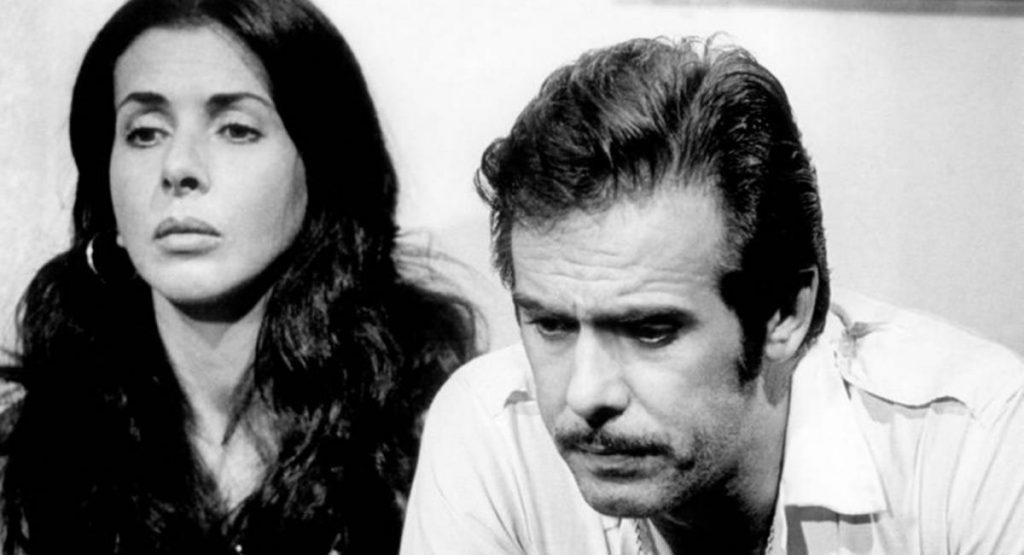 Betty Faria e Francisco Cuoco como Lucinha e Carlão na novela Pecado Capital