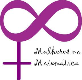 Logo do projeto Mulheres na Matemática