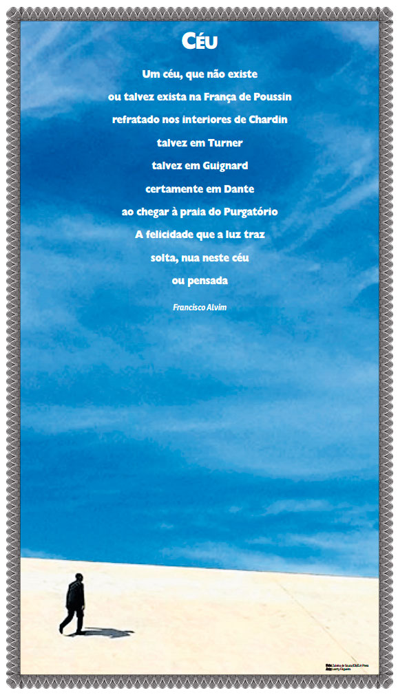 Poema poster - Francisco Alvim