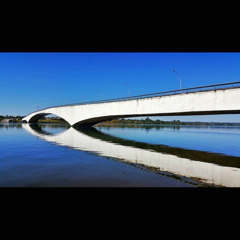 11/04/2016. Crédito: Breno Fortes/CB/D.A Press. Brasília - DF. Ponte Honestino Guimarães.