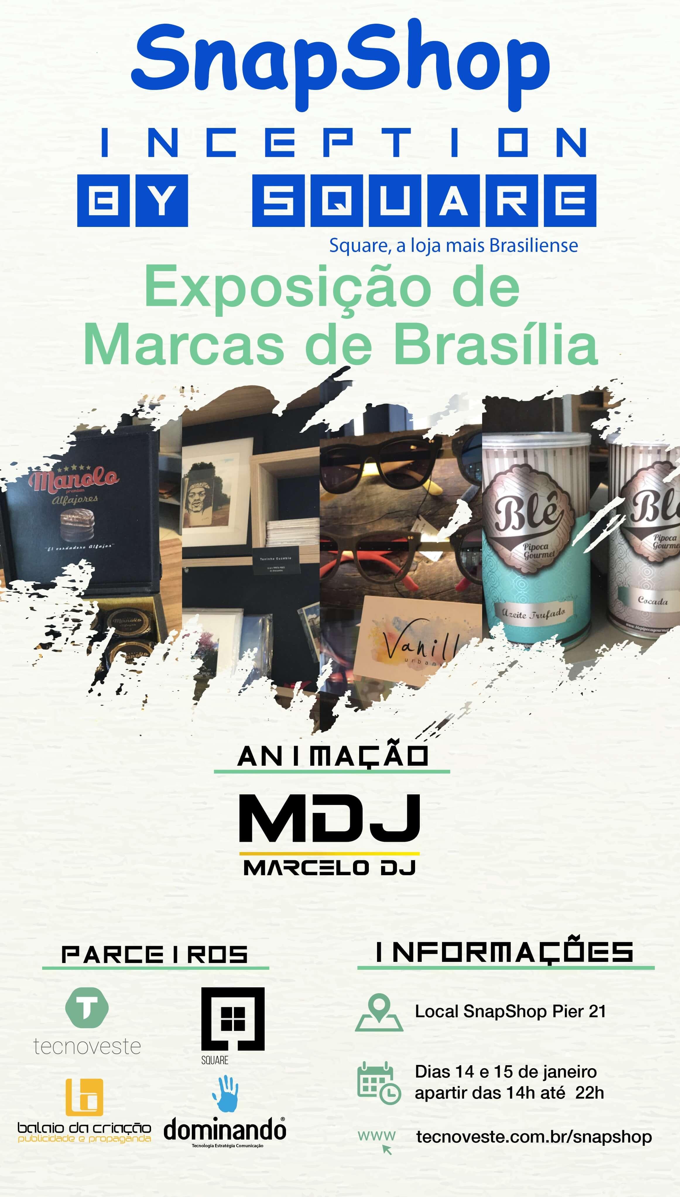 Square Brasilia exposicao brasiliense shopping pier 21 visite brasilia tecnoveste
