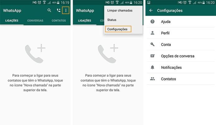 como mudar a lingua do whatsapp android