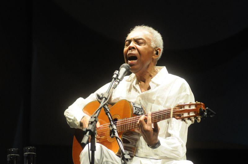 Crédito: Carlos Moura/CB/D.A Press. Brasil. Gilberto Gil